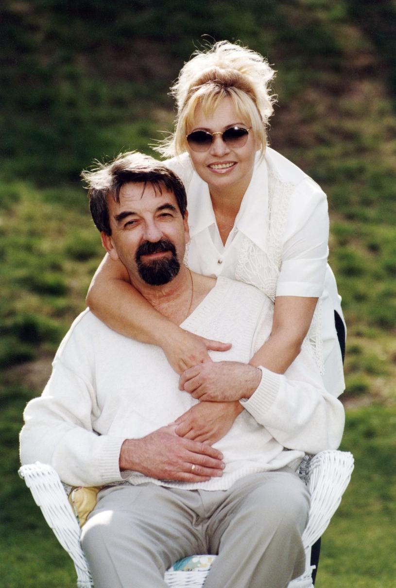 Zdzisława Sośnicka z mężem /Zenon Zyburtowicz/Fotonova /East News