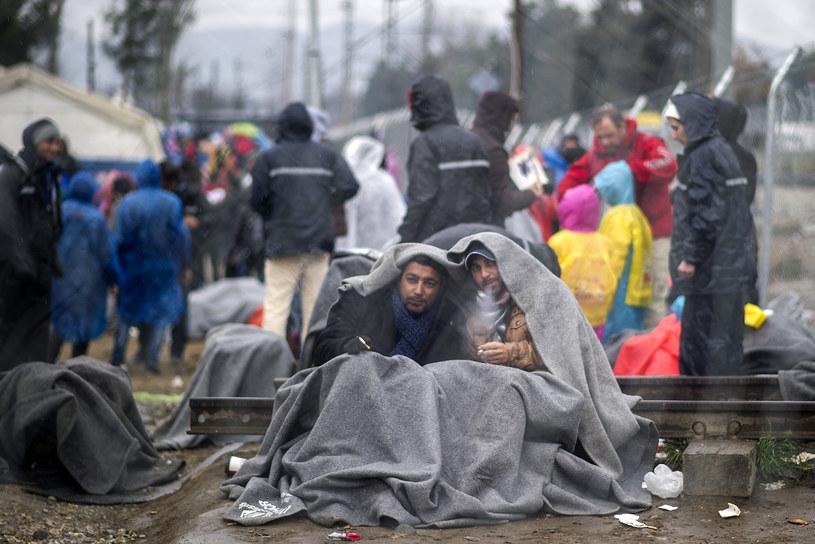 Ze 160 tysięcy osób udało się rozesłać do krajów członkowskich niespełna 600 /Robert Atanasovski /AFP