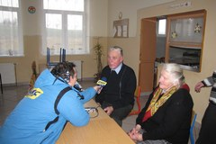 Ze świąteczną wizytą w ukraińskich Strzelczyskach