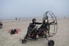 Ze  Świnoujścia w Bieszczady na motoparalotniach