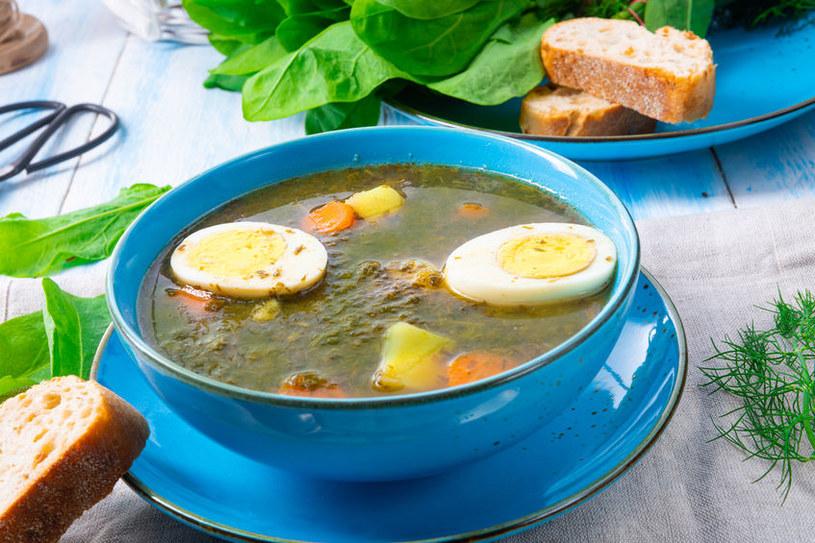 Ze szczawiu możemy zrobić nie tylko zupę /123RF/PICSEL