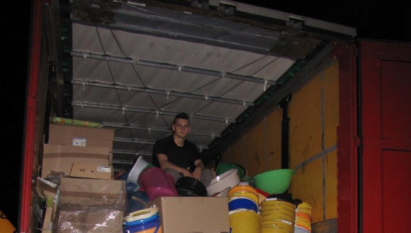 Zebraliśmy 30 ton darów dla powodzian