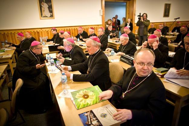 Zebranie plenarne Konferencji Episkopatu Polski, fot. P. Tumidajski /Agencja FORUM