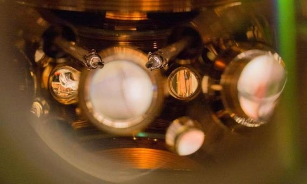 Zegar atomowy.  Fot. Marti/JILA /materiały prasowe