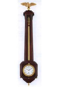 Zegar ścienny tzw. Freischwinger, 1. ćw. XIX w., mahoń, brąz pozłacany, wys. 73,5 cm /Sztuka.pl