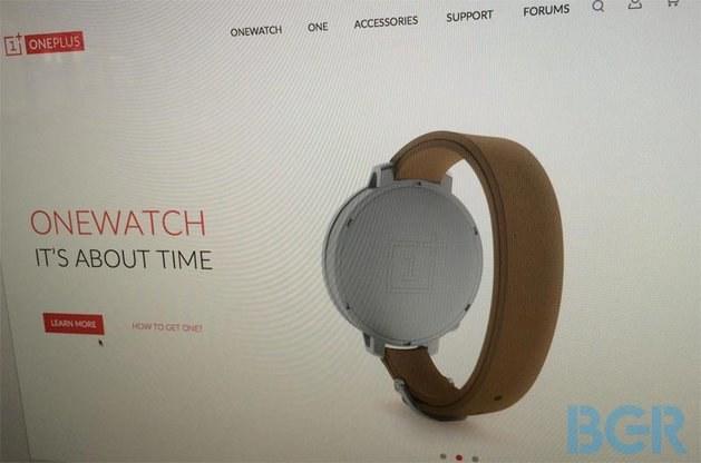 Zegarek OnePlus OneWatch Źródło: BGR /Komórkomania.pl