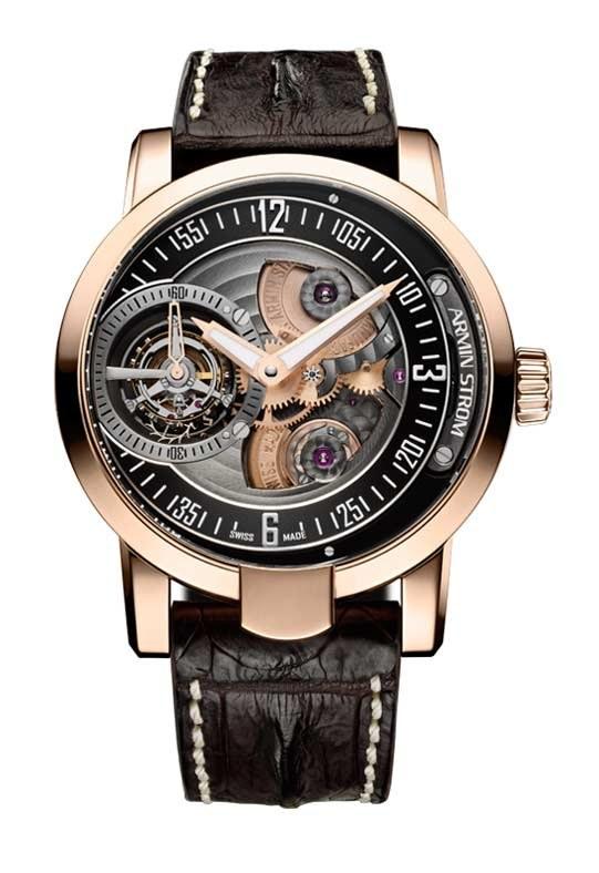 Zegarek Tourbillon Gravity Fire z szwajcarskiej manufaktury Armin Strom /Informacja prasowa