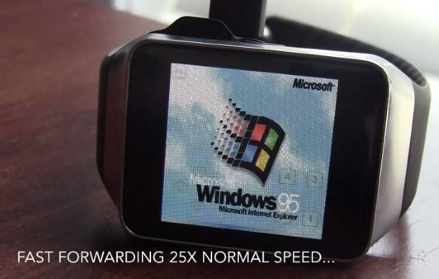 Zegarek z Windowsem /materiały prasowe
