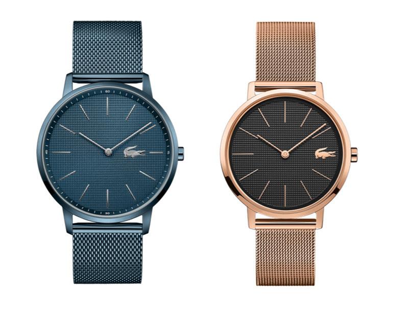 Zegarki z linii Lacoste Moon /materiały prasowe