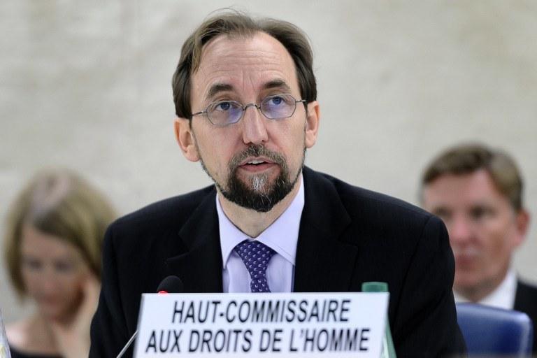 Zeid Ra'ad Al-Husajn /AFP