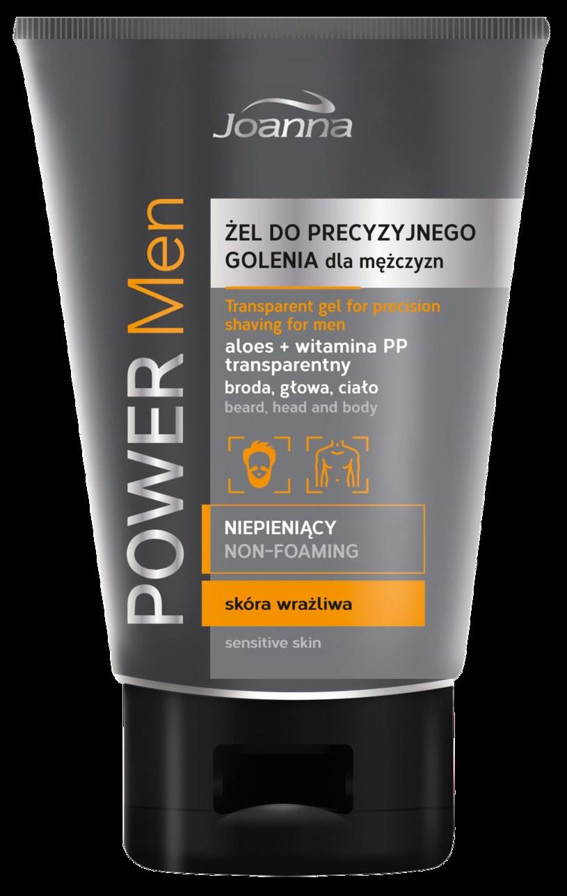 Żel do precyzyjnego golenia od Joanna Power Men /INTERIA.PL/materiały prasowe