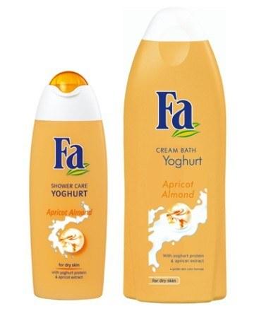 Żel pod prysznic i płyn do kąpieli Fa Yoghurt Apricot Almond /materiały prasowe