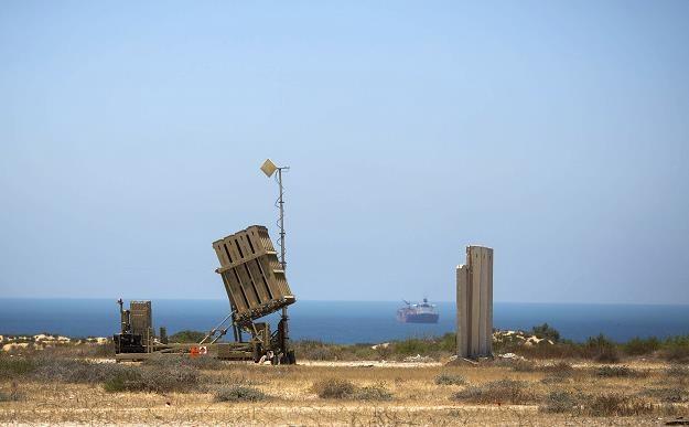 Żelazna Kopuła w Aszkelonie strzeże terytorium Izraela. Fot. Ilia Yefimovich /Getty Images/Flash Press Media