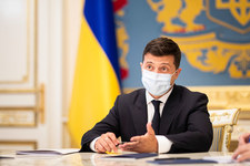 Zełenski: cofnięcie sankcji wobec Nord Stream 2 będzie klęską dla Bidena