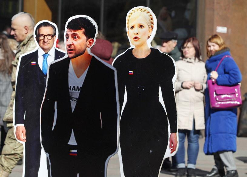 """""""Zełenski to ktoś w rodzaju Dyzmy. Skutek jest taki, że ludzie w niedziele będą głosowali na postać telewizyjną"""" - mówi Michał Broniatowski /STEPAN FRANKO /PAP/EPA"""