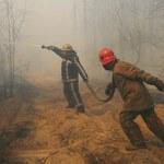 Zełenski: Zlikwidowano wszystkie pożary leśne w rejonie Czarnobyla