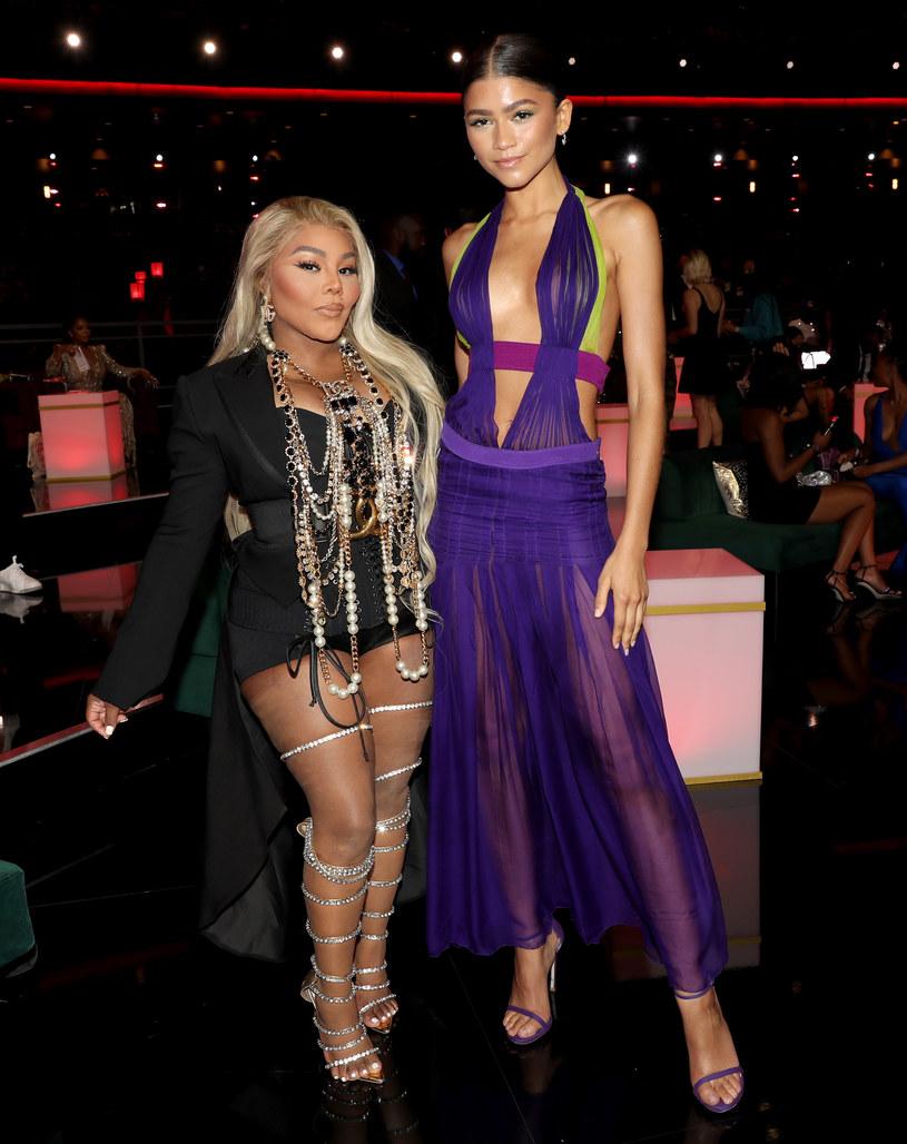 Zendaya z Lil' Kim podczas BET Awards 2021 /Bennett Raglin /Getty Images