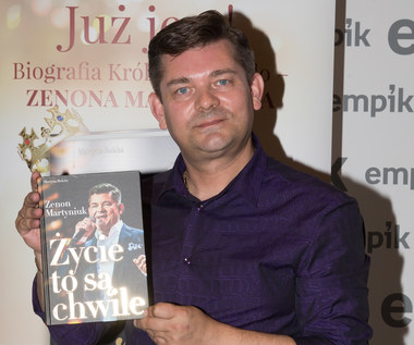 Zenek Martyniuk promuje swoją książkę
