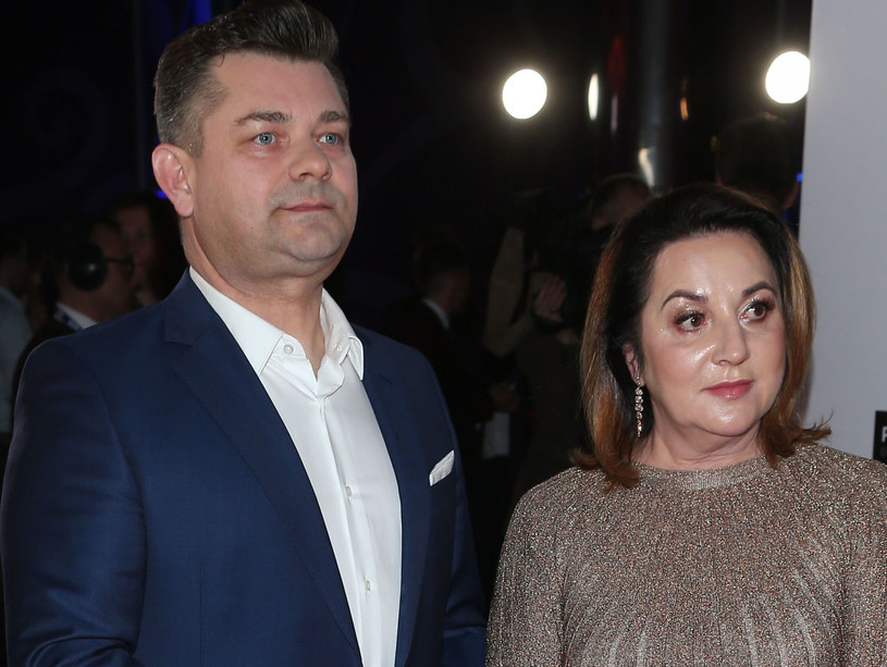 Zenek Martyniuk z żoną Danutą /VIPHOTO /East News