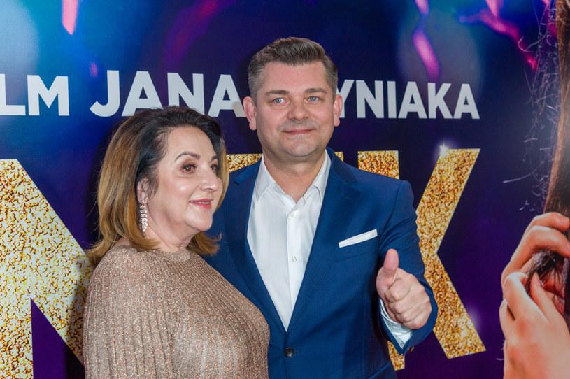 Zenek Martyniuk z żoną Danutą /East News