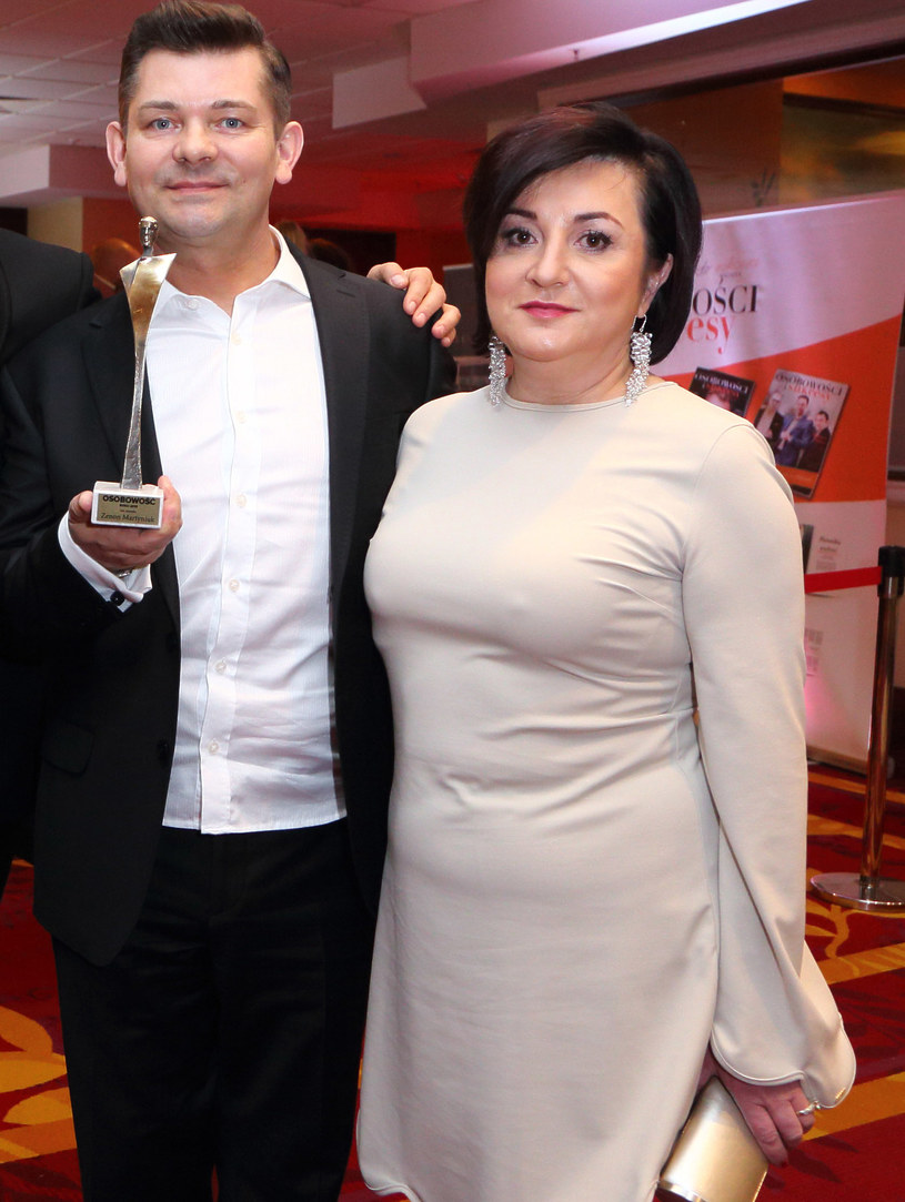 Zenek Martyniuk z żoną /Jarosz /Agencja FORUM