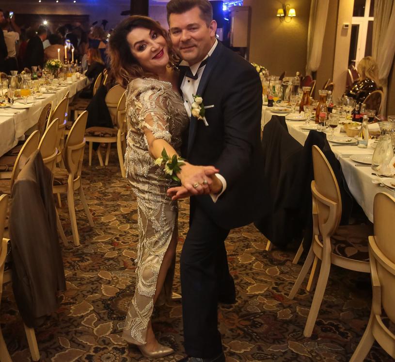 Zenek Martyniuk z żoną /Piotr Grzybowski /East News