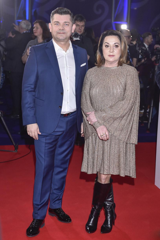 Zenek Martyniuk z żoną / Jacek Kurnikowski /AKPA