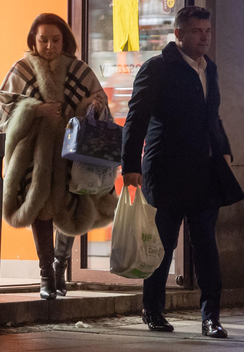 Zenek Martyniuk z żoną /Newspix