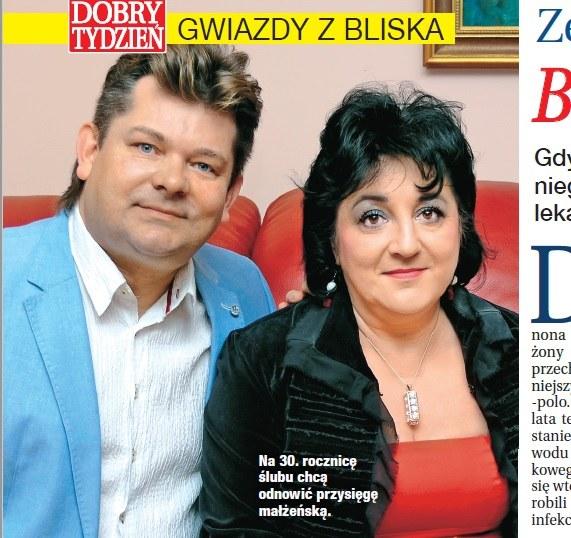 Zenek z żoną /- /Dobry Tydzień