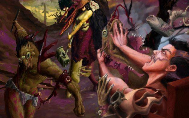 Zeno Clash - motyw graficzny /Informacja prasowa