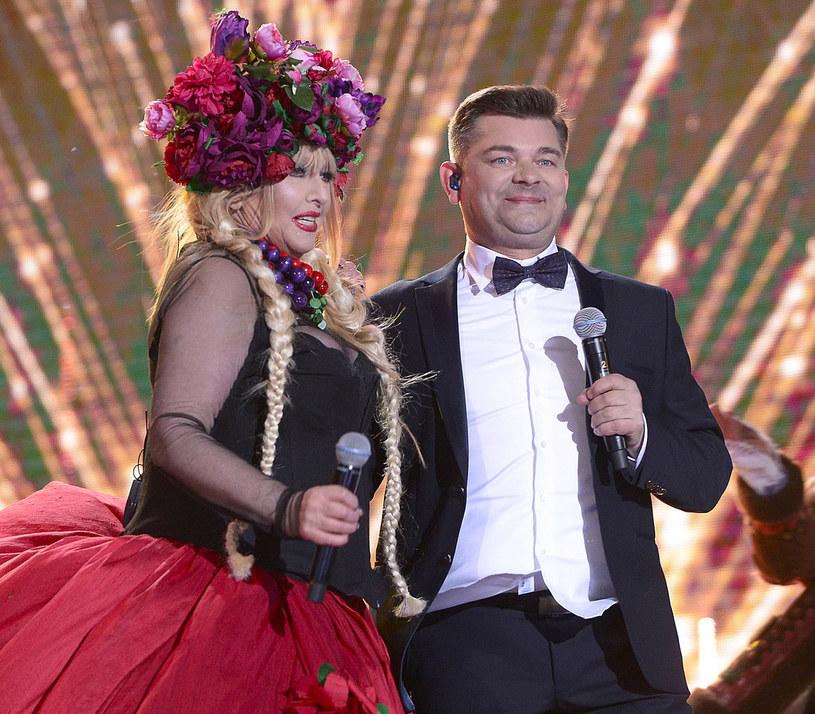 Zenon Martyniuk wystąpił niedawno z Marylą Rodowicz. Teraz czas na współpracę z Edytą Górniak /Piętka Mieszko /AKPA