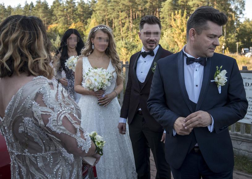 Zenon Martyniuk z rodziną /Agencja FORUM