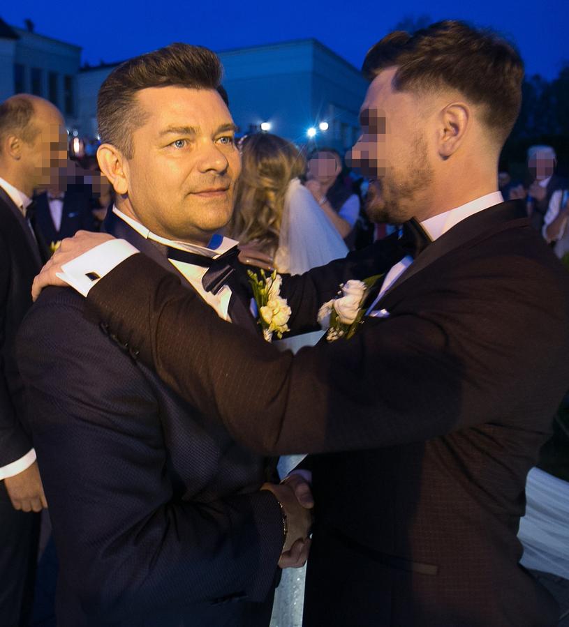 Zenon Martyniuk z synem Danielem /Piotr Grzybowski /East News