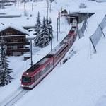 """""""Zermatt znów dostępne"""". Przywrócono ruch pociągów do ośrodka turystycznego"""