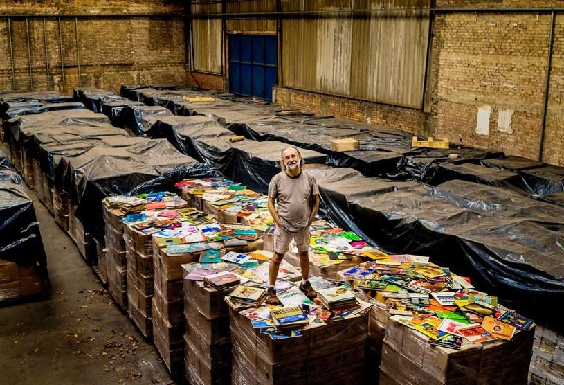Zero Freitas i jego kolekcja /materiały prasowe