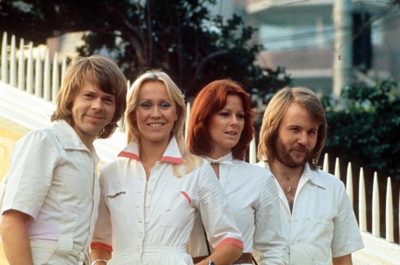Zespół Abba w 1976 roku /East News