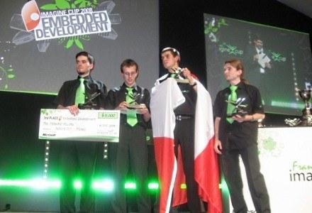 Zespół Aero@Put z Politechniki Poznańskiej, który zdobył 3. mniejsce w finale z 2008 roku /INTERIA.PL