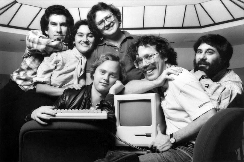 Zespół Apple'a - druga od lewej to Joanna Hoffman /materiały prasowe