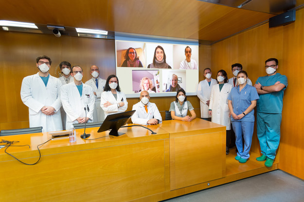 Zespół badawczy SAINT /ISGlobal/Clínica Universidad de Navarra. /Materiały prasowe