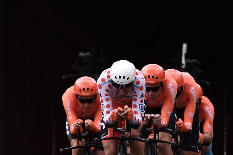 Zespół CCC podczas Tour de France /AFP