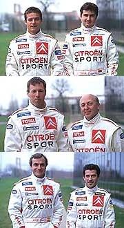 Zespół Citroena w sezonie 2003 /INTERIA.PL