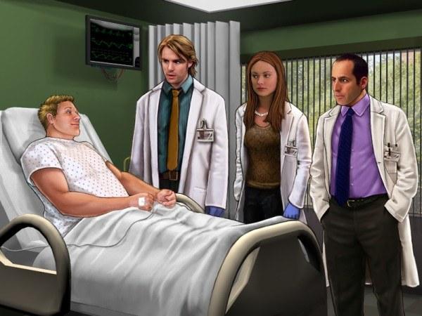 Zespół Dr House'a zawsze gotowy, by nieść pomoc potrzebującym /INTERIA.PL