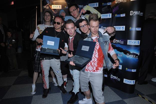 Zespół Enej na Festiwalu w Opolu 2012 /East News