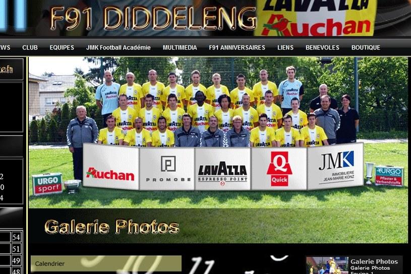 Zespół F91 Dudelange /Internet