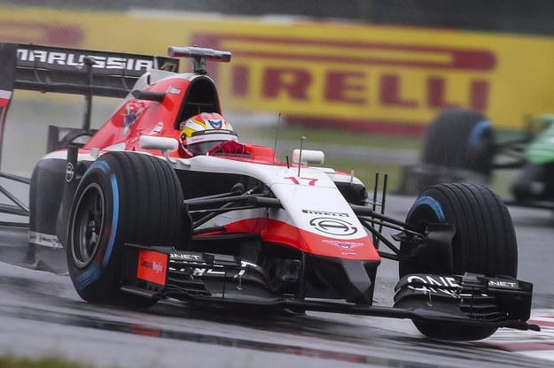 Zespół Formuły 1 Marussia został rozwiązany, a pracownicy zwolnieni /DIEGO AZUBEL /PAP/EPA