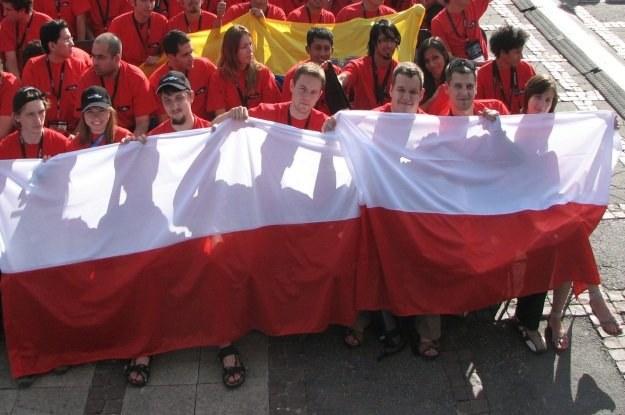 Zespół fteams z Politechniki Łódzkiej, który będzie reprezntował Polskę w Imagine Cup 2010 /INTERIA.PL