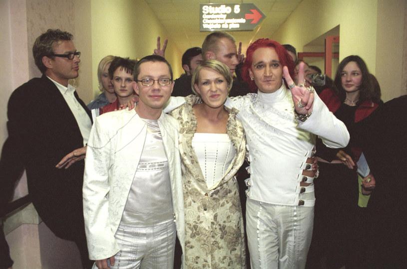 Zespół Ich Troje w 2003 roku /Prończyk /AKPA