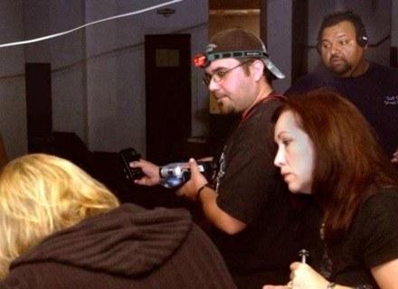 Zespół łowców duchów w trakcie prac na terenie Ritz Theater /MWMedia