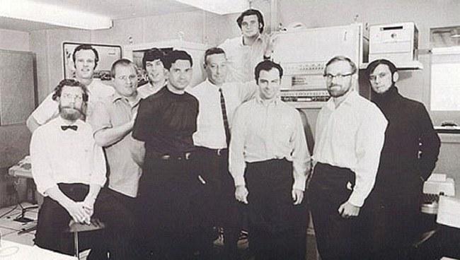 Zespół naukowców, który pracował nad siecią ARPAnet /Getty Images/Flash Press Media