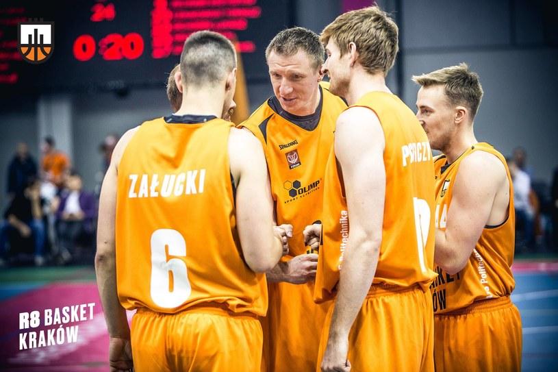 Zespół R8 Basket pokazało na co stać go w lidze, a jak będzie w Pucharze Polski? /Oficjalny profil R8 Basket na Facebooku /